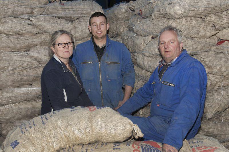 Angelique, Martijn en Anselm Claassen