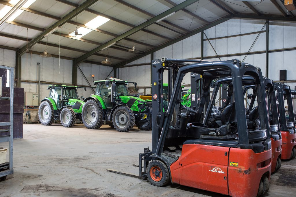 Verdegaal streeft omwille van een lagere bodembelasting naar gebruik van lichtere machines. Precisielandbouw kan daaraan bijdragen.