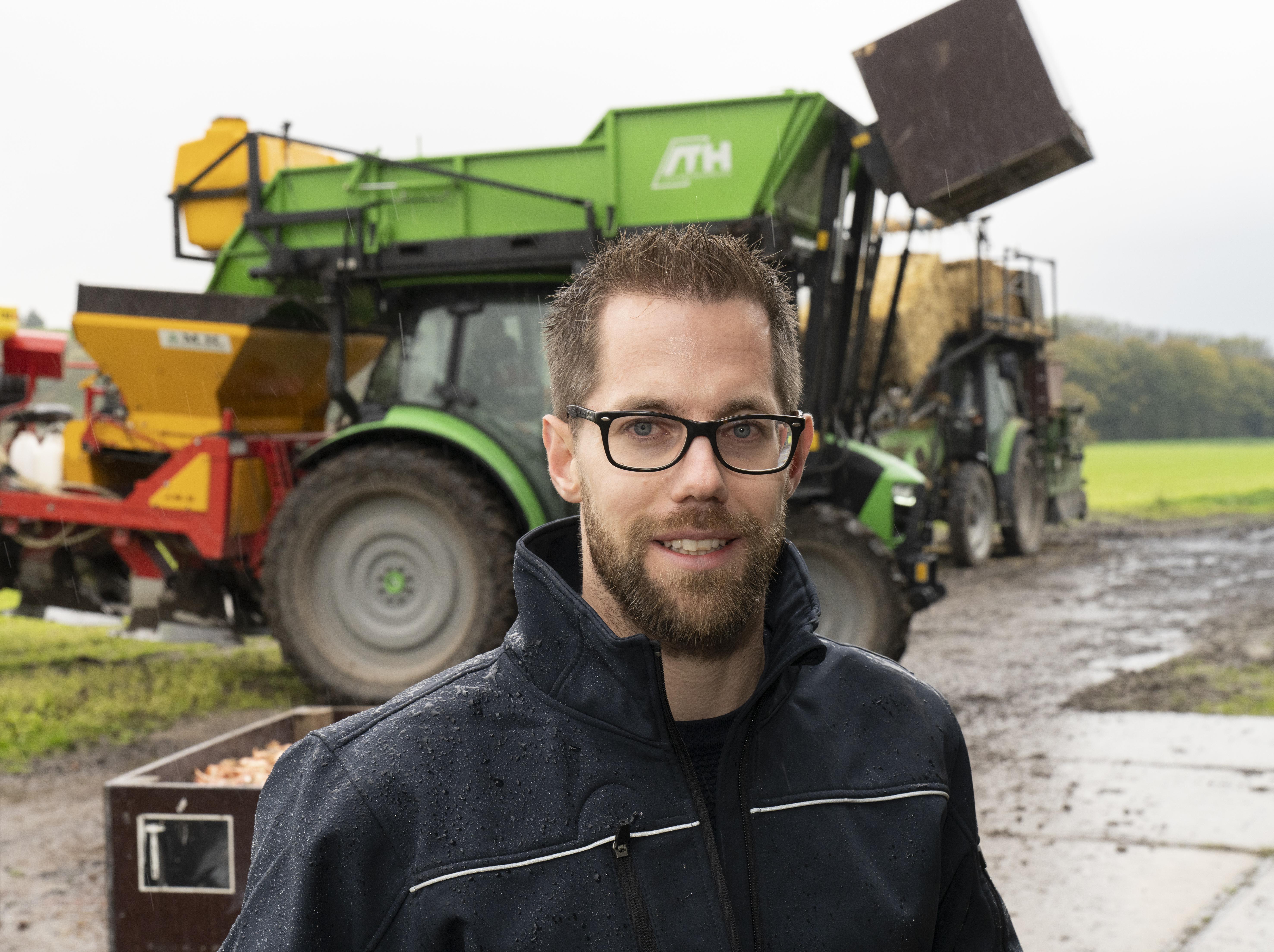 Fedde Sijbrandij (33) is onderzoeker precisielandbouw bij Wageningen University & Research. Hij ontwikkelt deze technieken voor de akkerbouw en veehouderij.