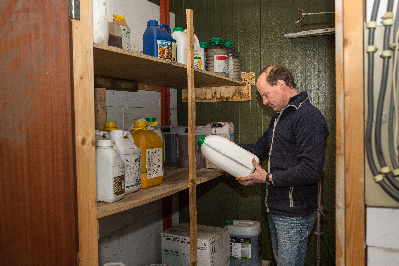 Het belangrijkste doel van Verdegaal is het verlagen van het middelengebruik. Vooral bespuiten tegen onkruiden wordt steeds moeilijker.