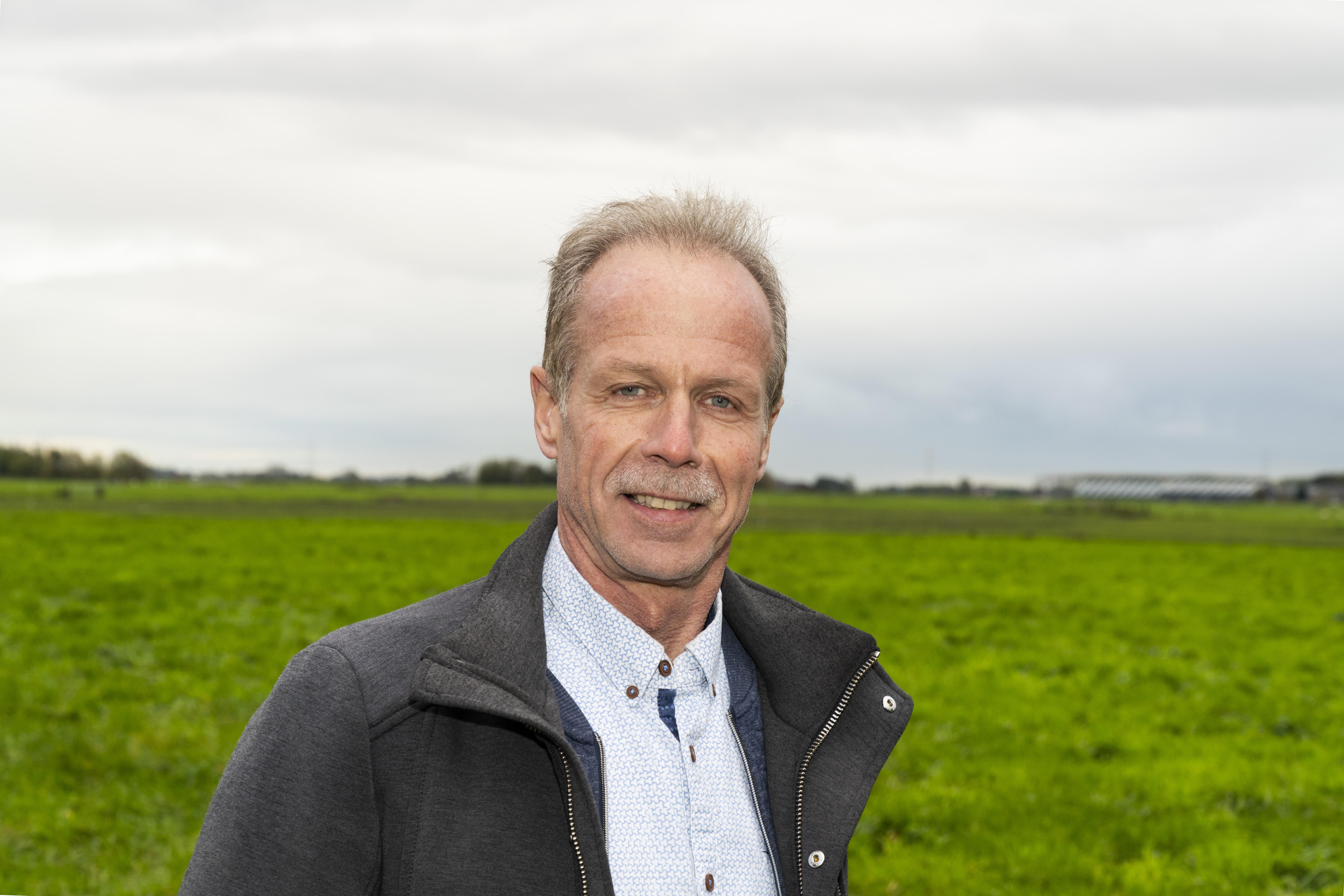 Herman van Schooten (59) is onderzoeker bij Wageningen Livestock Research. Hij houdt zich vooral bezig met teelt, oogst en conservering van voedergewassen.