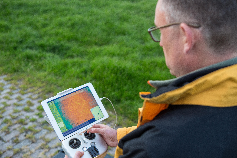 Met de camera's is in beeld gebracht waar nesten zich bevinden. Komend jaar krijgt verder gebruiken van de data aandacht.